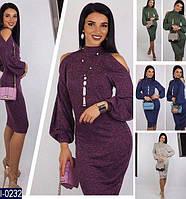 Платье женское ангора софт теплое см и мл размеры