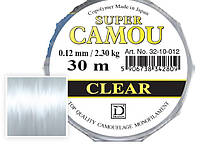 Леска Dragon SUPER CAMOU Clear 30m 0.16mm/3.95kg