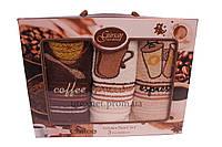 """Набор полотенец кухонных 3шт """"Coffee"""" 30х50 см Турция"""