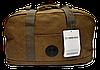 Удобная дорожная сумочка цвета хаки FАА-077484