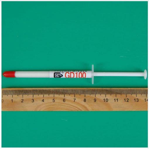 Термопаста термо-паста в шприце 1 грамм
