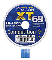 Леска Dragon XT69 Hi-Tech COMPETITION 125m 0.2mm 5.40kg