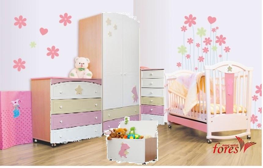 Комната для новорожденного ROSE DREAMS