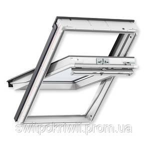 Мансардное окно VELUX PREMIUM Комфорт GGL 2066 – ручка сверху, фото 2