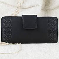 Кошелек мужской кожаный К3-01 (черный)