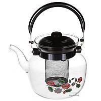 Заварник для чая 1,2 л.А плюс (1045)