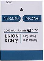 Аккумулятор NB 5010 для Nomi i5010 EVO M (2000 mAh 3.7V)