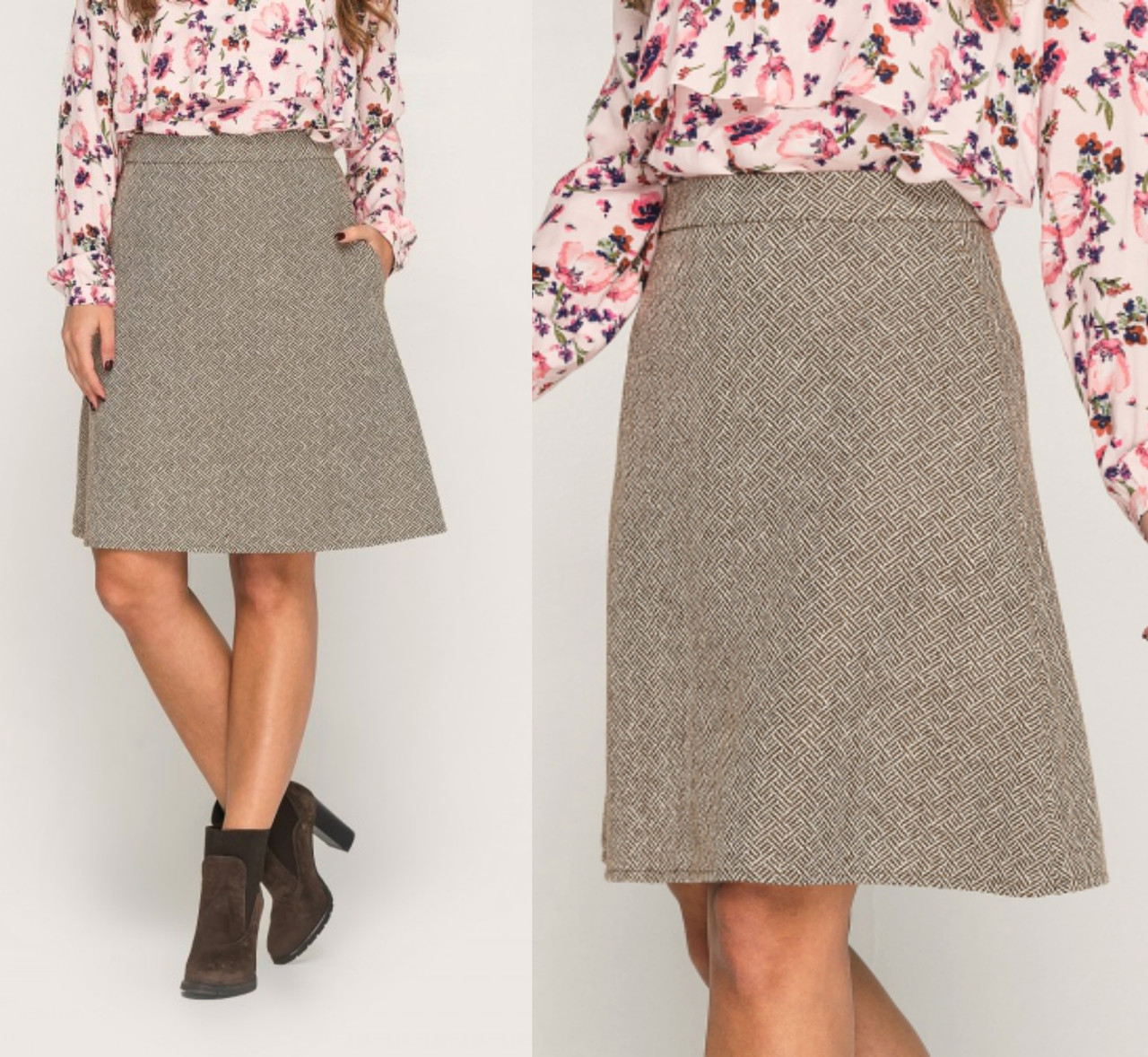 Твидовая юбка на подкладе cf7df4efdfc