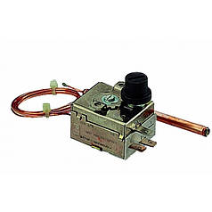 Термостат предельный (аварийный), сброс 90-110 °C.