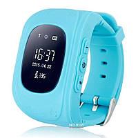 Умные часы Smart Watch детские, GPS tracking Голубые
