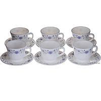 Набор чайных пар на 6 персон (1861)