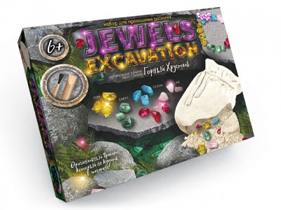 "Набор для раскопок  ""Jewels Excavation"" камни"