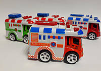 Машина инерционная Скорая помощь 0783-69 Китай