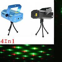Мини лазерный светодиодный проект  LASER 4IN1, фото 1