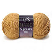 Nako super inci hit (75% преміум акрил, 25% вовна /180м / напіввовна / осінь-зима)