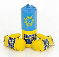 "Боксерский набор Danko Toys ""Украина"" 15 х 40 х 15 см"