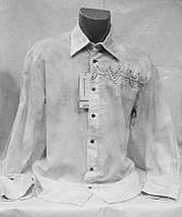 Рубашка Doramafi мужская светло серая