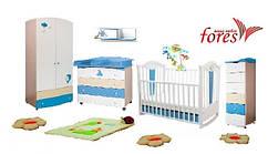 Комната  для новорожденного SEA&SKY