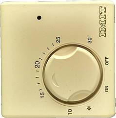 Термостат регулируемый комнатный диапазон 5°C - 30°C. С механическим выключателем