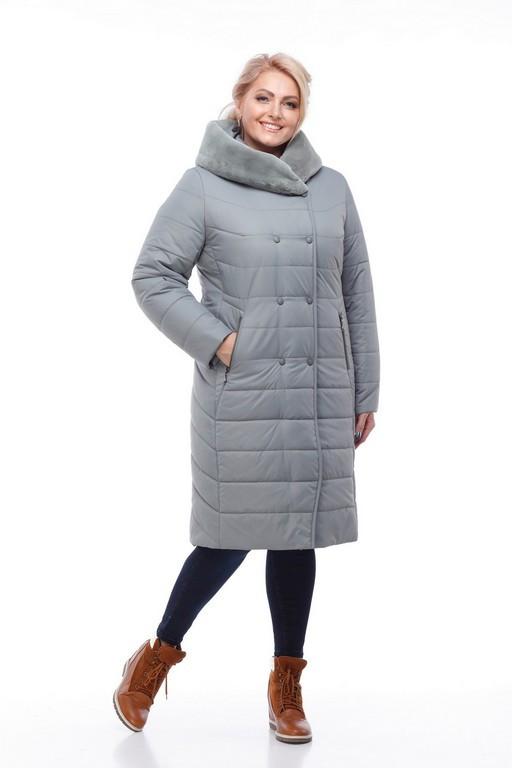 0c7f87915779 Зимнее пальто Ким ORIGA (ОРИГА) мех мутон иск. кролик, цена 3 010 ...