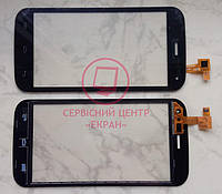 Explay A500 сенсорний екран, тачскрін чорний