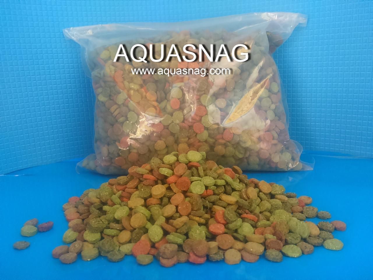 """""""Микс в таблетках"""" -1кг, витаминизированный корм для рыб, ТМ """"Золотая Рыбка"""""""