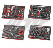 Комплект инструментов (117 предметов) JTC UE0117 JTC