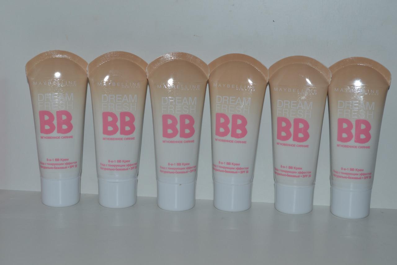 Тональный крем Maybelline BB Cream Dream Fresh (Мэйбелин ВВ Крем Дрим Фрэш)