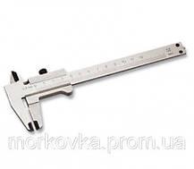 Штангенциркуль микрометр в футляре нониус деревянном боксе, фото 3
