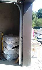 Пружины растяжения используются для балансировки полотна секционных гаражных ворот Алютех серии Стандарт.