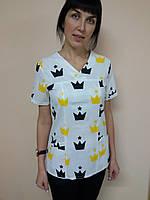 Медицинский хирургический женский костюм 42, Короны