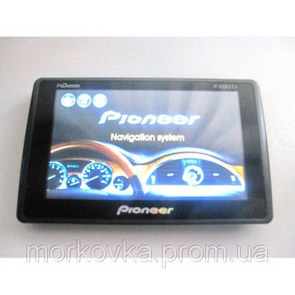 GPS навигатор Pioneer 5 + TV телевизор P5003,  GPS навигатор 5003, фото 2