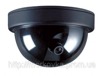 Купольная камера видеонаблюдения муляж 6688, Видео камера обманка, видеокамера, , фото 2