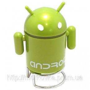 Портативная MP3 колонка Android Robot MP3 USB Андроид, TF, MicroSD, радио, FM, SDHC, SD, CD, фото 2