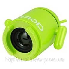 Портативная MP3 колонка Android Robot MP3 USB Андроид, TF, MicroSD, радио, FM, SDHC, SD, CD, фото 3
