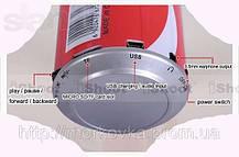 Колонка портативная MP3  CocaCola, банка Кока кола, TF, MicroSD, радио, FM, SDHC, SD, CD, фото 2