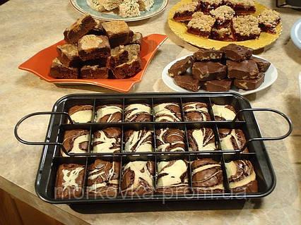 Perfect Browni антипригарная форма для выпекания пирожных,  протвинь, жаровню, Perfect Brownie, фото 2