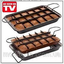 Perfect Browni антипригарная форма для выпекания пирожных,  протвинь, жаровню, Perfect Brownie, фото 3