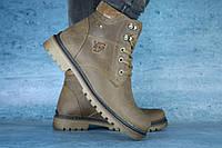 Мужские зимние YDG Ботинки Оливковые 10558 р: 41 42 44