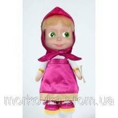 Кукла Маша 5 фраз и 1 песня из мультфильма маша и медведь 40 см , фото 3