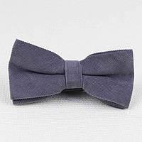 Детский галстук-бабочка для мальчика,  вельвет