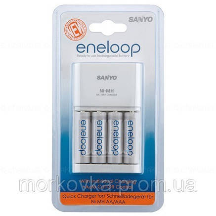 Зарядное устройство для аккумуляторов Sanyo MQR06 Санио MQR-06, MQR 06, , фото 2