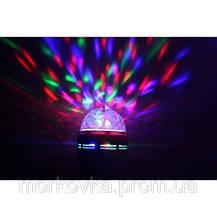 Диско лампа вращающаяся LED lamp для вечеринок LY-399 339, фото 2