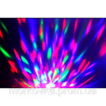 Диско лампа вращающаяся LED lamp для вечеринок LY-399 339, фото 3