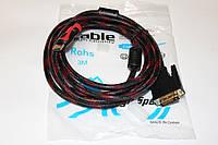 Видео-кабель HDMI-DVI 3m