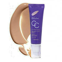 Увлажняющий СС-крем Deoproce Violet CC Cream 23 Sand Beige, оригинал
