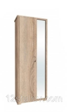 Шкаф в прихожую с зеркалом  Лора