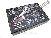 Фонарик подствольный + лазер Police BL-Q9840 5000W, фото 3