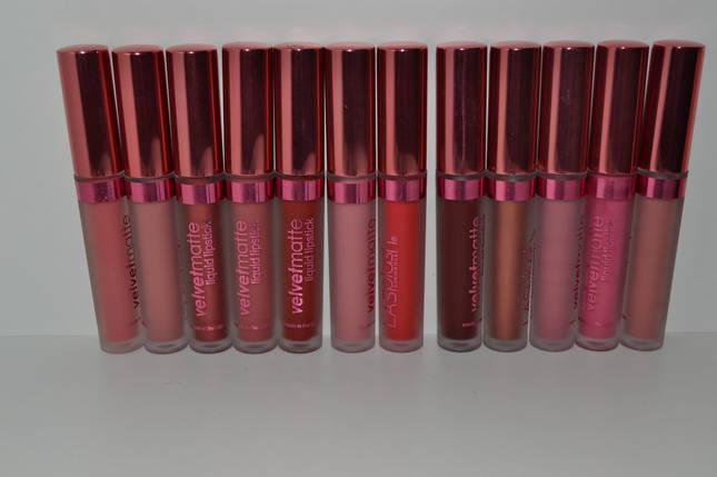 Блеск для губ LA Splash Velvetmatte Liquid Lipstick, фото 2