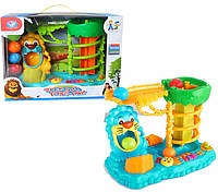 Музыкальная игрушка 855-21A 8штДжунгли 3 режима, орган, шарики, батар, в кор.3831,522,5см